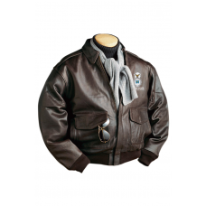 Burk's Bay Men's A-1 Cowhide Bomber Jacket