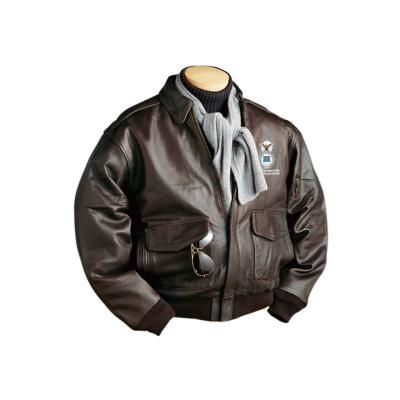 Burk's Bay Men's A-1 Cowhide Bomber Jacket